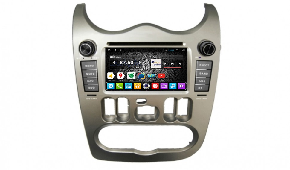 Daystar DS-7069HD Android 6.0 для Renault Logan