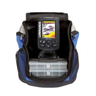 Lowrance Elite-3x All-Season Fishfinder Pack with 83/200 кГц