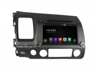 Штатная магнитола FarCar s130 для Honda Civic 2006-2011 на Android (R044)
