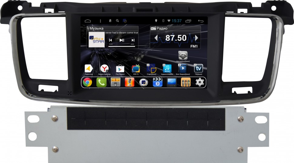 Daystar  DS-7104HD Android 6.0 для PEUGEOT 508 (2013+)