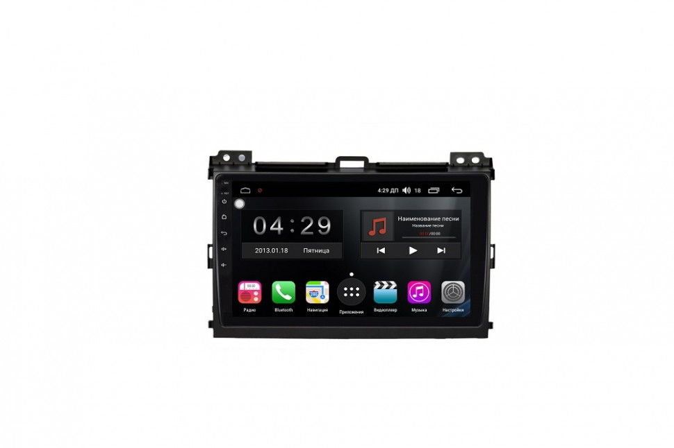 Штатная магнитола FarCar s200+ для Toyota Land Cruiser Prado 120 на Android (A456R)