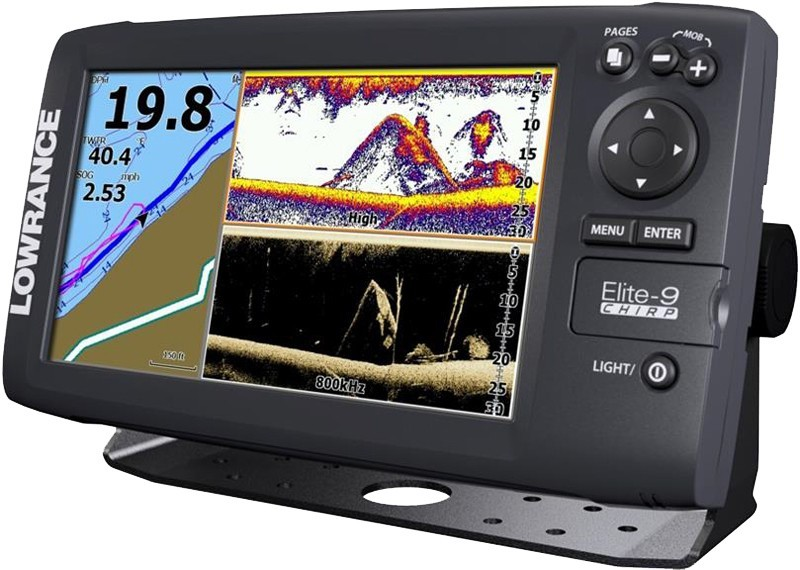 Lowrance Elite-9 CHIRP